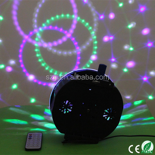 MP3 Player&Remote Control 3W LED Light Magic Spinning Ball light