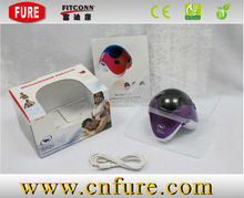 glowing LED crazy fit CE and ROHS approved battery operated battery mini body massage sex product