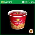 Disposable packing fried chicken container 85oz chicken paper bucket