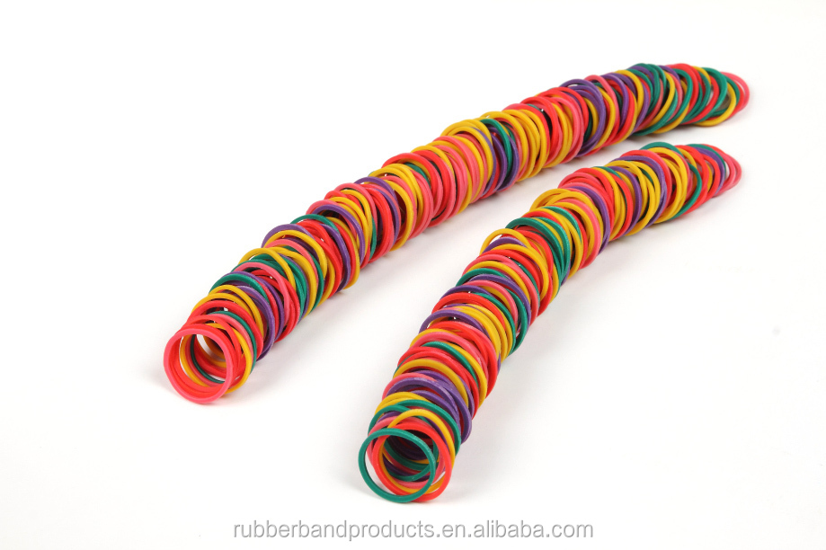 High Quality Vietnam Mini Colored Natural Rubber Band Price