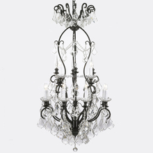Cozee Lighting Large Hotel Modern Crystal Chandelier LED Light Pendant Hanging Lamp CZ2582/13