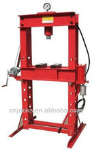 50T Air Powered Shop Press with gauge