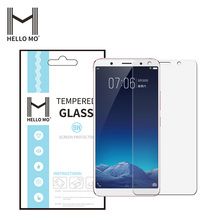 Mobile phone screen protector 0.3MM 2.5D tempered glass for VIVO X20 PLUS protective 9H tempered glass film