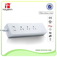 220V Input 5V 4A USB Output Power Strip Master Slave