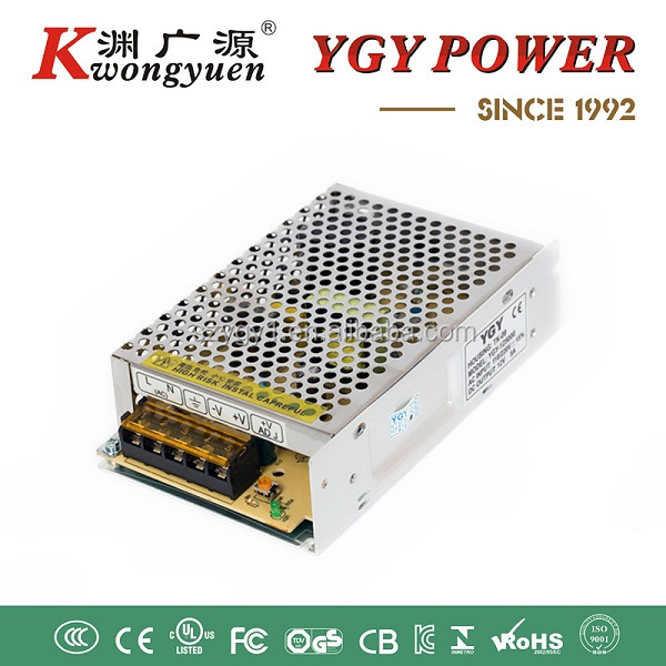 72W SMPS/Metal Power Case for CCTV Camera with 100 to 240V AC Input Voltages,