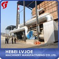 Single plasterboard wall production line with installation