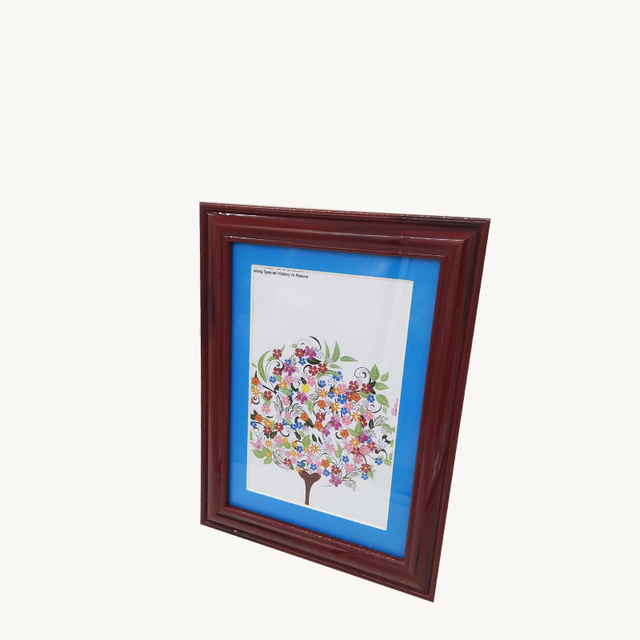 Modern style cheap decoration plastic photo paper frames