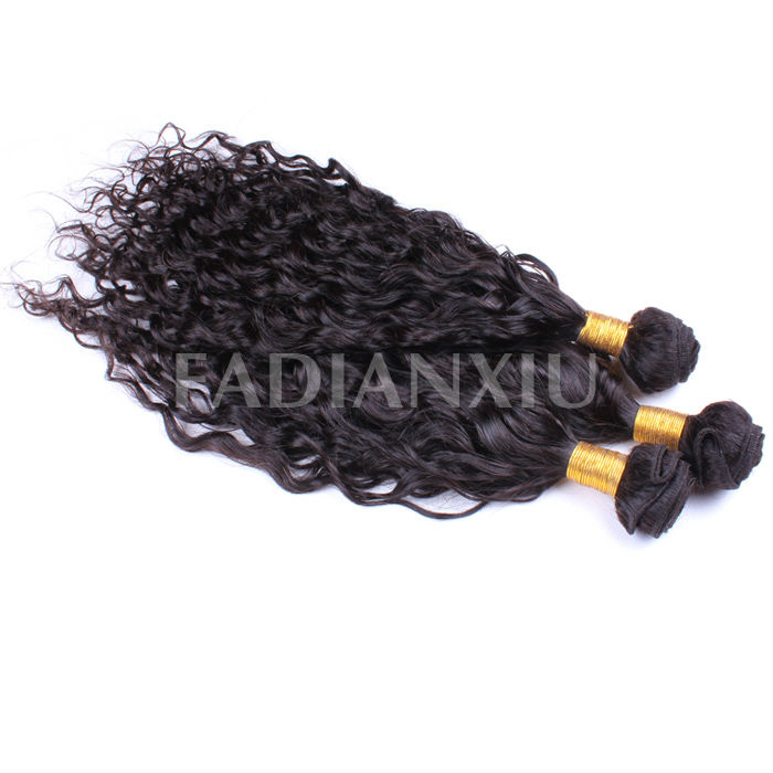 Brazilian 5A color 1b 12-36inch nature girl hair weave