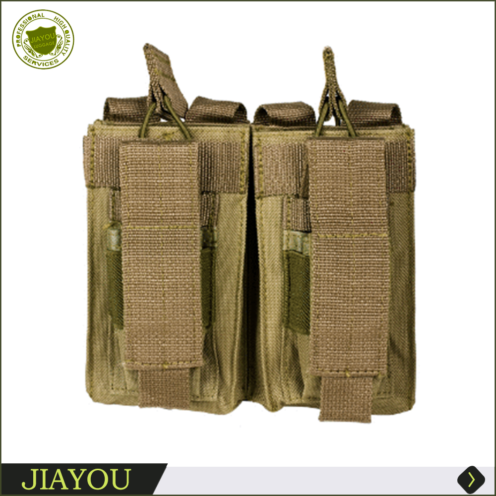 Tactical double 1911 magazine pouch