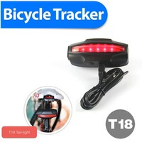 bike mini gps gsm tracker ET04 gps bike computer locator With Google Map tracking system 4400mAh