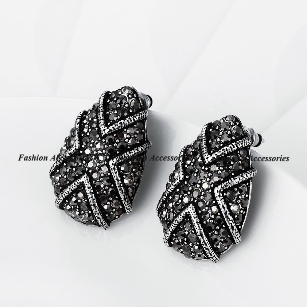 GiftJewelryShop Bronze Retro Style Crown princess Photo Clip On Earrings 14mm Diameter Photo