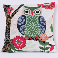 PLUS 100% Polyester Material and Jacquard Style PILLOW COVERS