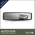 Auto Electronics Touch Button Control 4.3 Inch Car Mirror Monitor Car Rearview