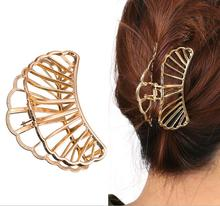 H36-119 fashion cutout large size cutout metal hair claw