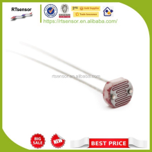 Good reliability 7mm LDR LIGHT DEPENDENT RESISTORS Photoresistor For Indoor sunlight control