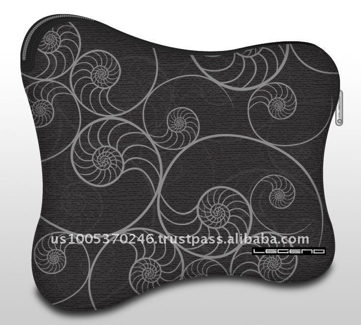Zipper Soft Neoprene Case_sea shell for IPad / tablet PC