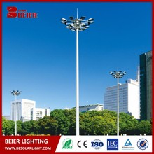 30m high mast light 400W high pressure sodium lamp installed in airport highway plaza