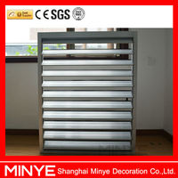 Factory price exterior aluminum window louvers/aluminum window louvers