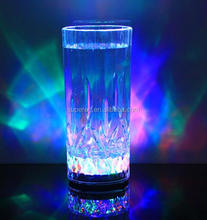 Colorful Highlight LED Flashing Juice Glass 400ML LED Drink Cup for Party Led Flash Cups Led Glasses Drink Cup For Party Bars