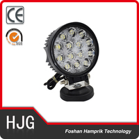 factory price 42W auto led work light 4X4 off road 42W led work light for jeep,suv, atv