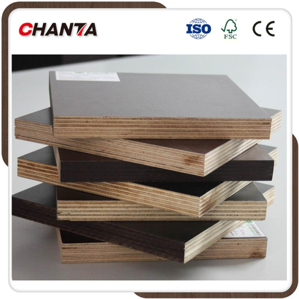 shuttering/film face plywood 18mm brown/black film MR/WBP glue manufacturer