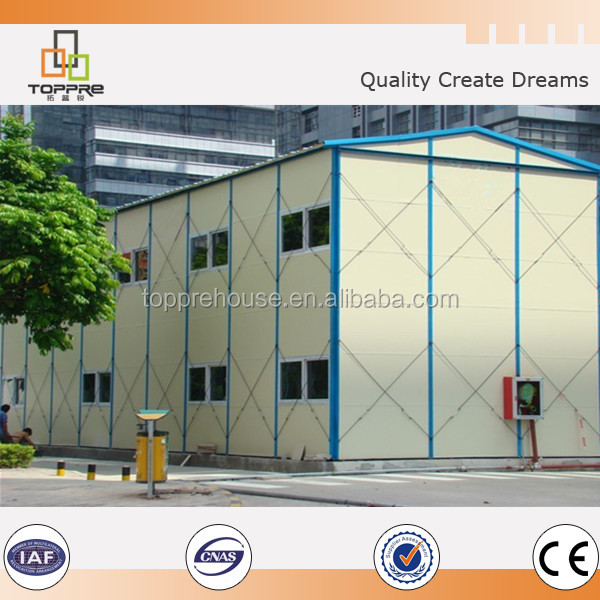 Multi-storey easy build prefab house for labor dormitory