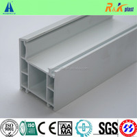 White Vinyl Extrusion Door Profile