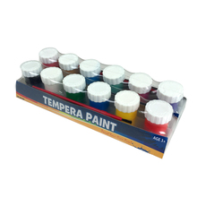Non toxic tempera paint set 12 Jars 20ml Each kids painting crafts