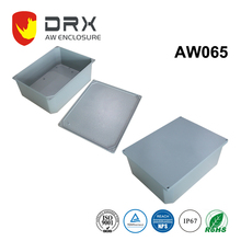 IP67 Metal boxes Electrical Aluminum Outdoor waterproof enclosure