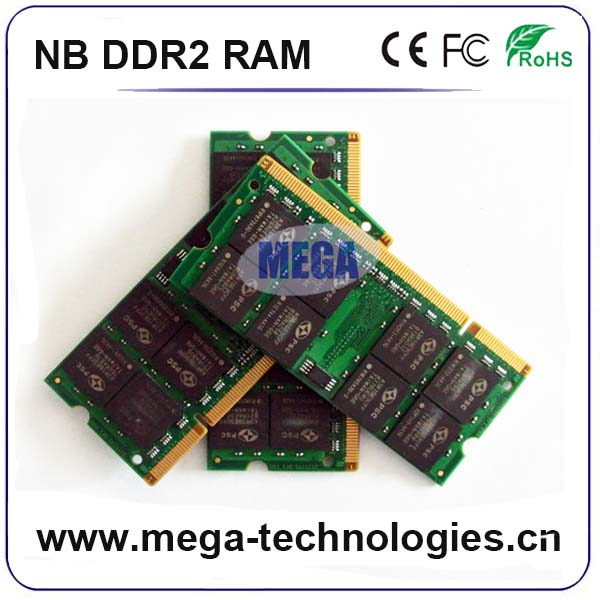 big reduce price 2GB Pc2 5300 667MHZ laptop ram SODIMM 200PIN