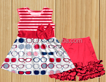 4th july baby clothes sets giggle make moon outfits kids boutique sunglasses pattern dress clothes