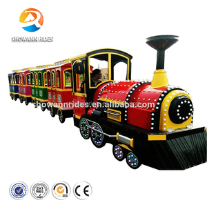 Amusement park Cheap price Funny game adult rides train set for kids
