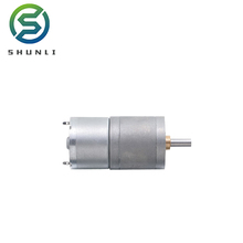 200rpm dc geared motor Battery drive 6v 9v small dc gear motor