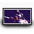 Modern Style and Original Famous Rock Star Pop Art Handmade Painting