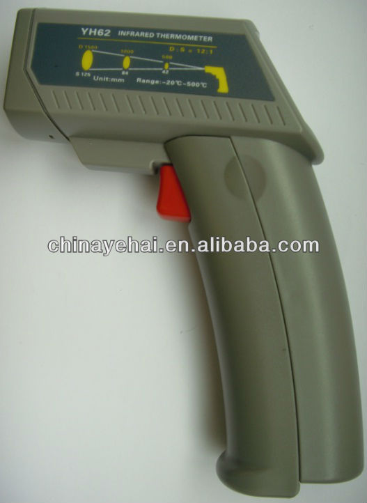Wholesale Handheld Gun Type Laser Non-Contact Infrared Thermometer YH62 20 ~ 500C digital temperature controller