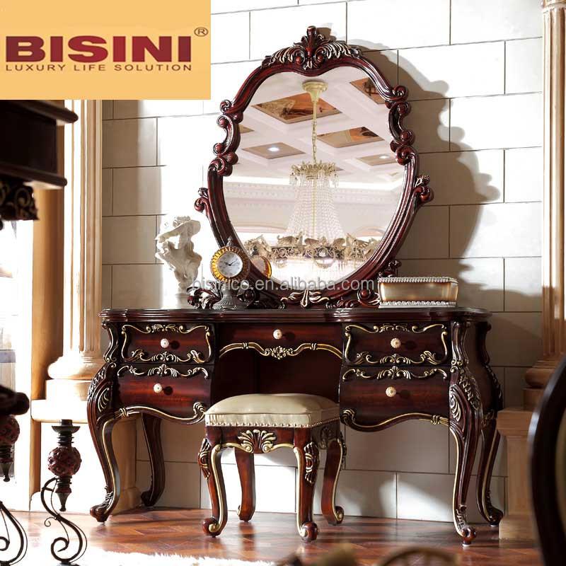 Bisini Antique Luxury Solid Wood Bedroom Set View Antique