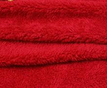 100 polyester super soft faux fur blanket or pile plush fabric,custom snuggie fabric