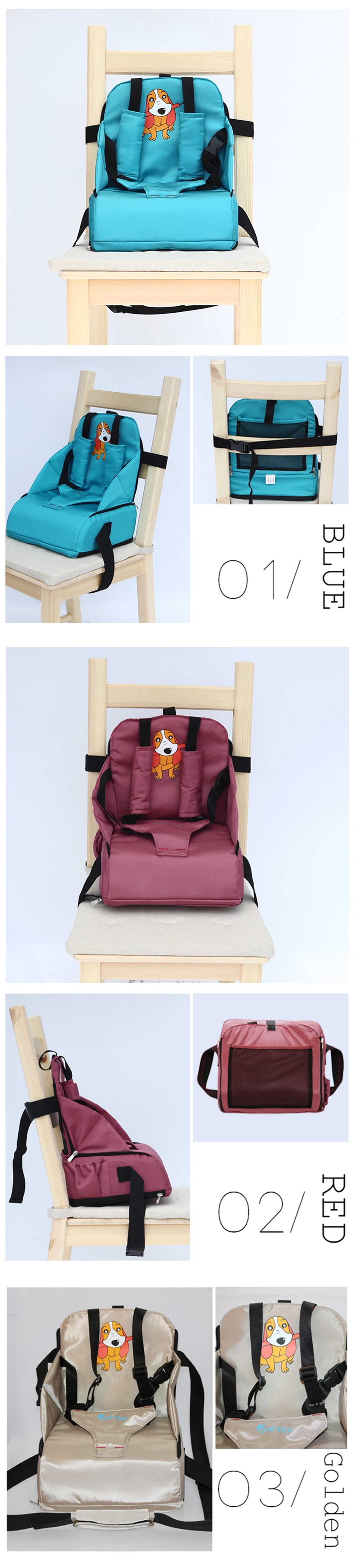 New Amazon Hot Selling Products Portable Folding Baby Booster Seat