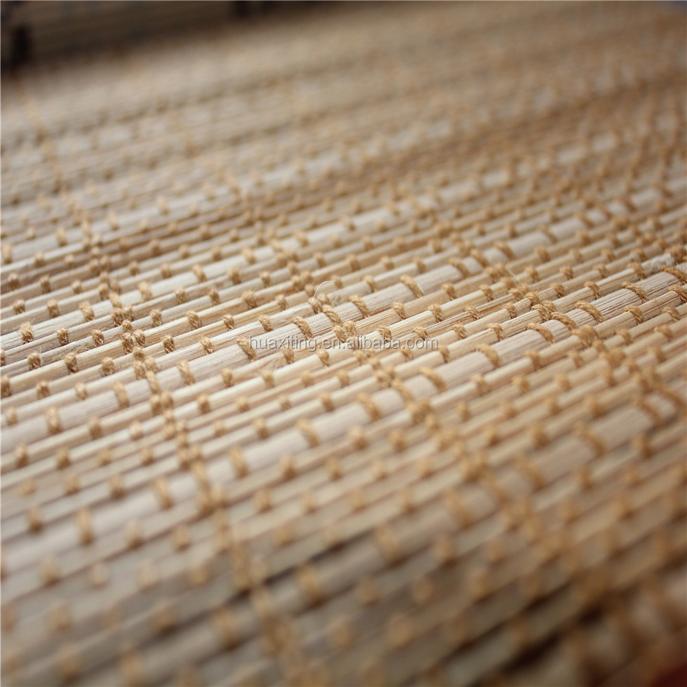 chinese bamboo soundproof curtain/blinds/handmade cotton bamboo blinds