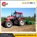 90hp 4x4WD farm tractor with frond end loader