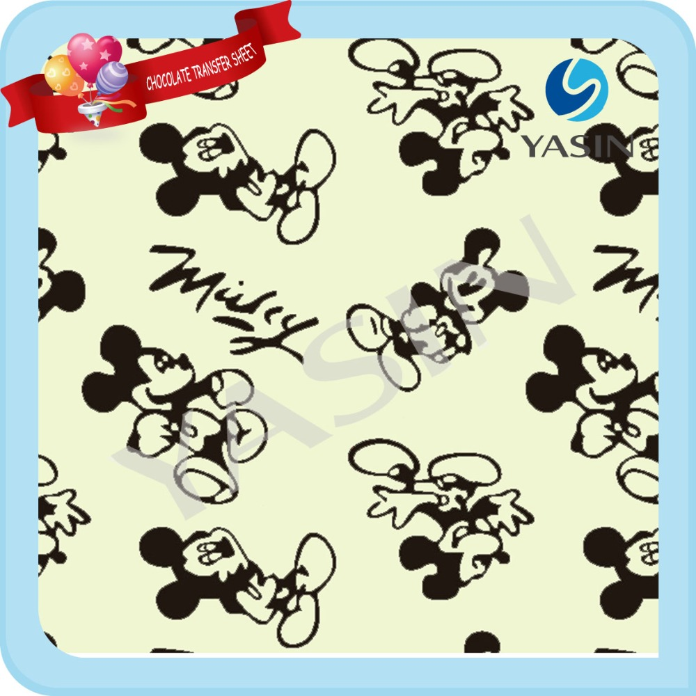Mickey Mouse Chocolate Transfer Sheets - Buy Chocolate Transfer ...