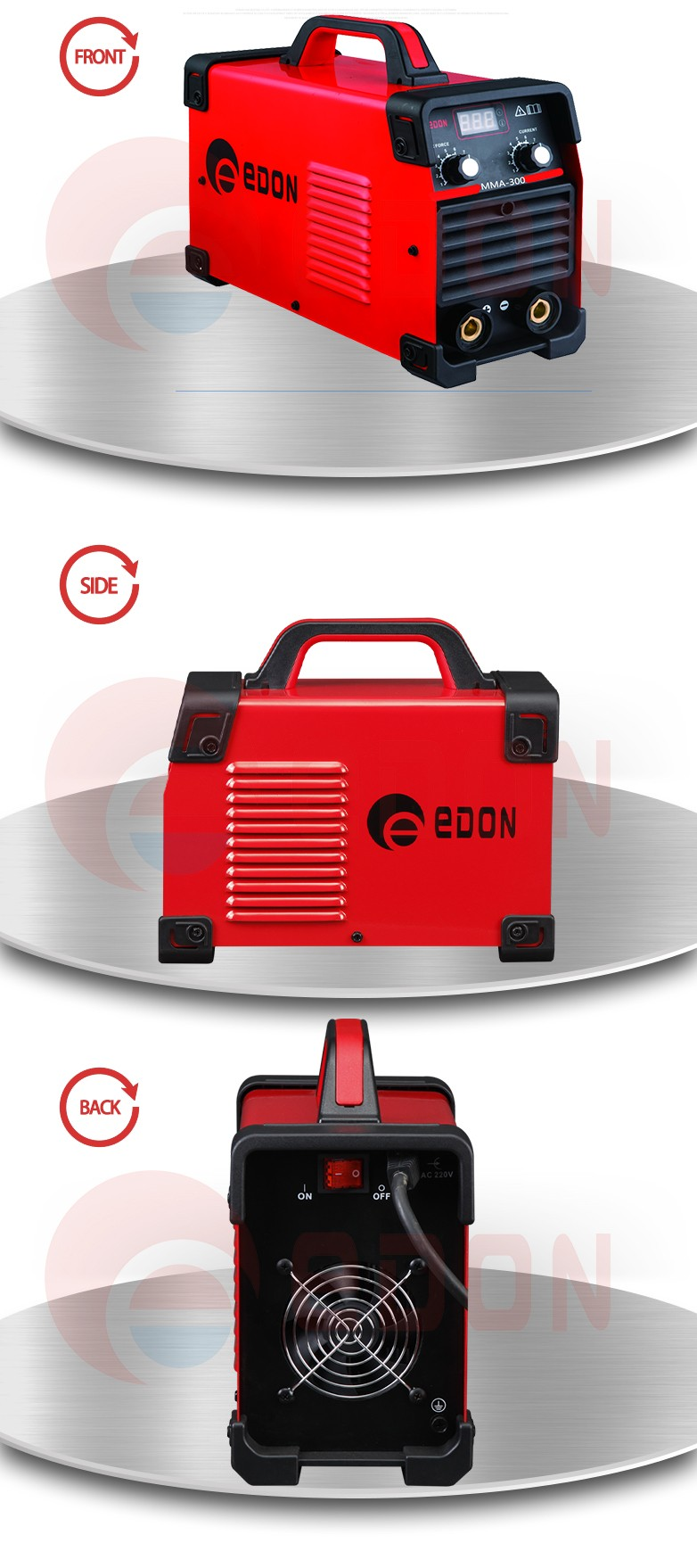 edon 300 amp mma inverter arc welder MMA 300 welding machine