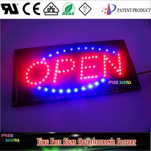 LED OPEN SIGNS for all business 19''x10'' LED SIGN board for all shops/ led bright sign board