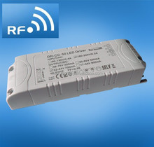 40W 2.4G RF Dimmable constant voltage LED driver, led transformer, led power supply 1100ma