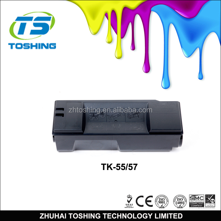 Compatible KYOCERA TK-55 TK55 TK57 Toner Cartridge for KYOCERA Printer @ 15K Pages Black