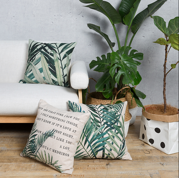 New pattern design pattern pillow cover