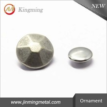 12mm Round Metal Rivet Accessories For Clothing