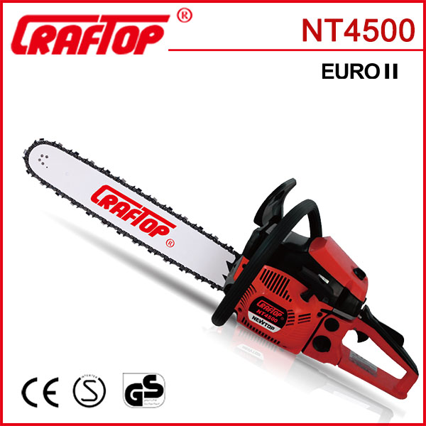 gasoline cheap chinese chainsaw 4500