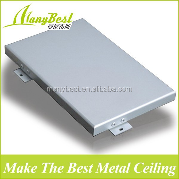 20 Years guarantee Aluminum wall cladding exterior sheet metal With SGS