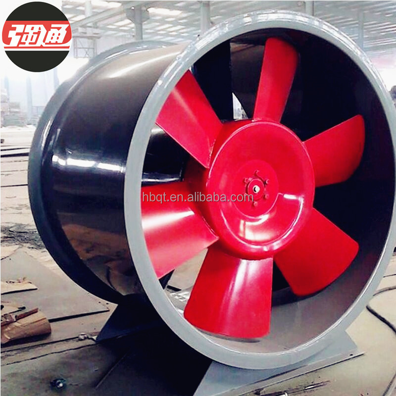 Industrial Cooling Axial AC Fans Mounted FRP Exhaust Air Blower